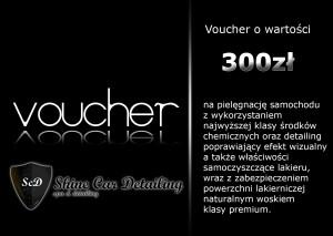 Voucher o wartości 300zł
