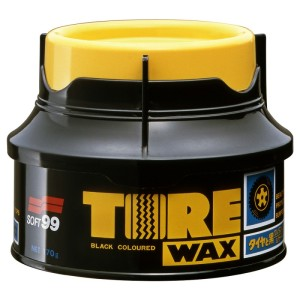 Soft99 Tire Black Wax