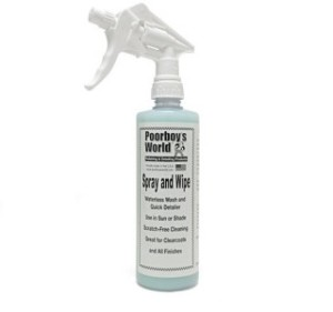 Poorboy's World Spray and Wipe