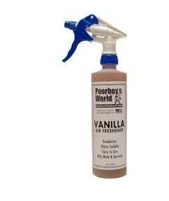 Poorboy's World Air Freshener Vanilla