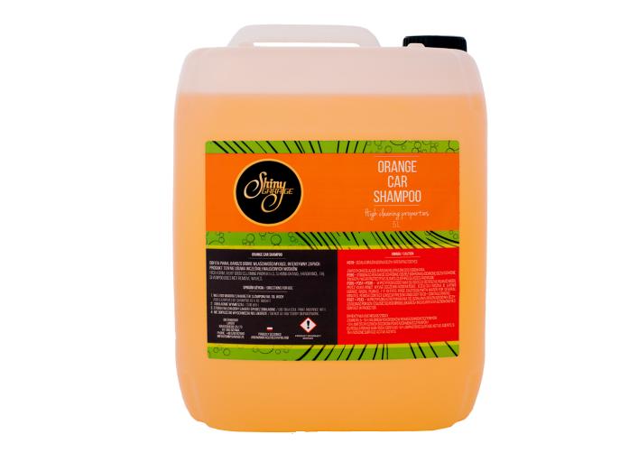 Shiny garage orange car shampoo for Garage auto orange